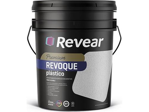 Revestimiento Revoque Fino Flexible Blanco Revear 25 Kg