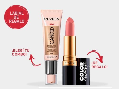 Combo So Candid Revlon Base liquida + labial de REGALO