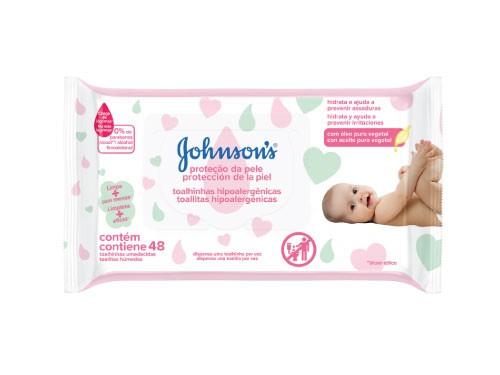 Toallitas Húmedas Johnson's Baby Extra Cuidado x 48u