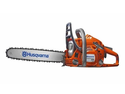 Motosierra Husqvarna 236e 1,9HP 38,2cc 40cm ajuste de cadena sin herr