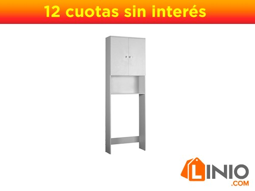 Mueble Sobre Inodoro Sensi DAcqua-Blanco