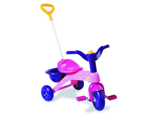 Triciclo Rondi Primer Triciclo Con Barra Gir Ploppy