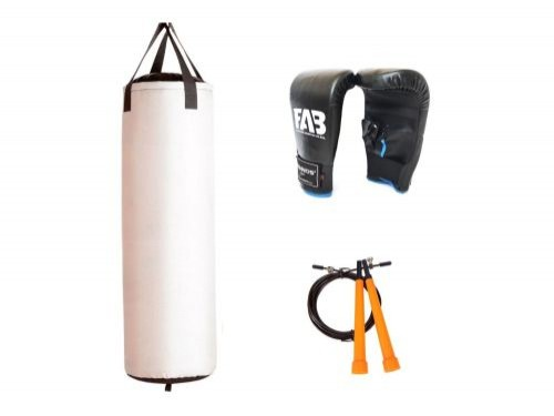 Kit de boxeo VII - Bolsa + Guantin + Soga para saltar