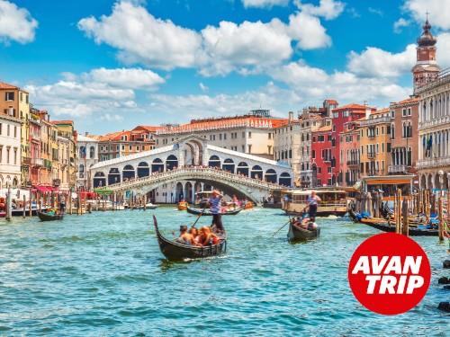 Paquete Madrid a Venecia por 9 noches con Hotel y Excursiones