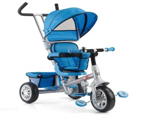 Triciclo Capota Confort Biemme Asiento Gira 360° 1 A 3 Años