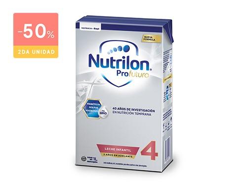 NUTRILON FÓRMULA LÁCTEA PROFUTURA 4 BRIK 1000 ML