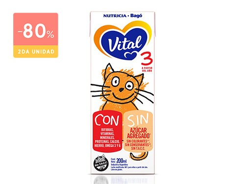 VITAL INFANTIL 3 BRIK 200 ML
