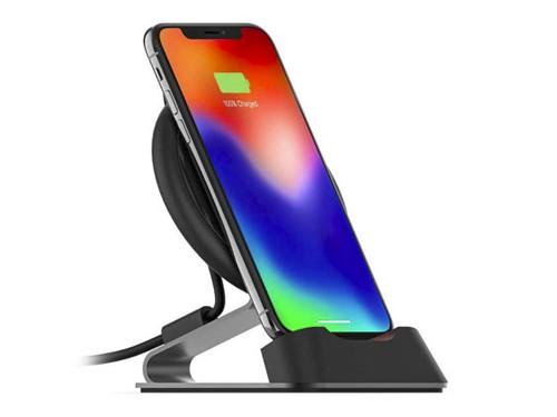 Cargador Magnético Mophie Desk Stand 10 W – Black