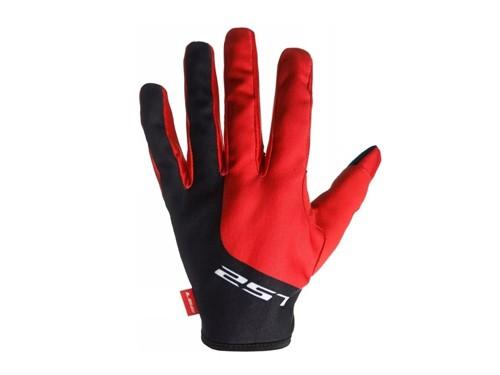Guantes Moto MX Ranger Dual Rojo Negro LS2