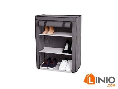 Organizador de zapatos 9 pares con estantes