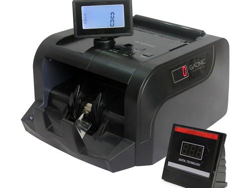 Contadora De Billetes Gadnic Portable Doble Display Detector Falsos