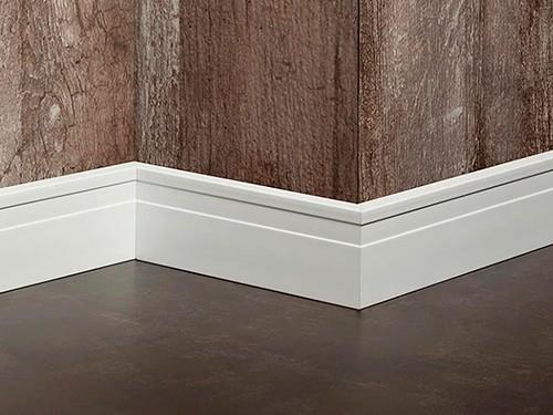 Zócalo de EPS Line 2,5 mts x 7 cm Blanco Atrim