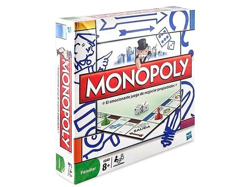 Juego De Mesa Monopoly Popular De Hasbro 2-6 Jugadores