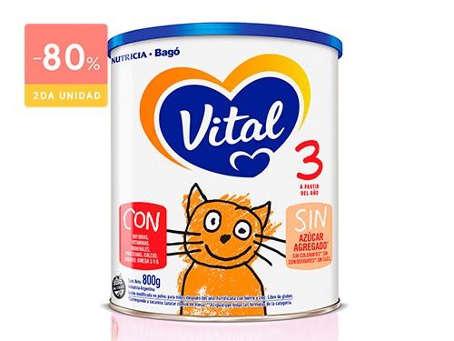 VITAL INFANTIL 3 NUTRI PLUS LATA 800 GRS