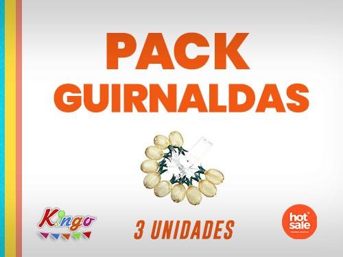 Pack Guirnaldas de Luces por 3 unidades
