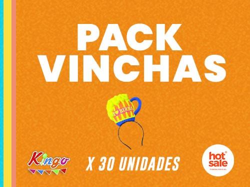 Pack Vinchas para fiesta - 30 unidades