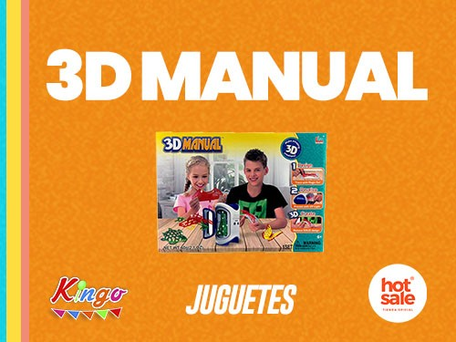 Juego infantil - 3D Manual - Creador tridimensional