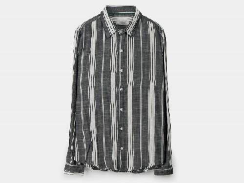 Camisa de Hombre Slim Fit Rayada Valkymia