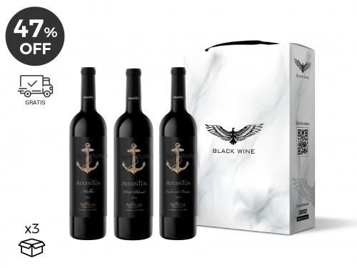 Set Aduentus Gualtallary Vineyards Surtido x 3