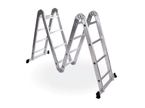 Escalera Multifunción Articulada Andamio de Aluminio 16 escalones