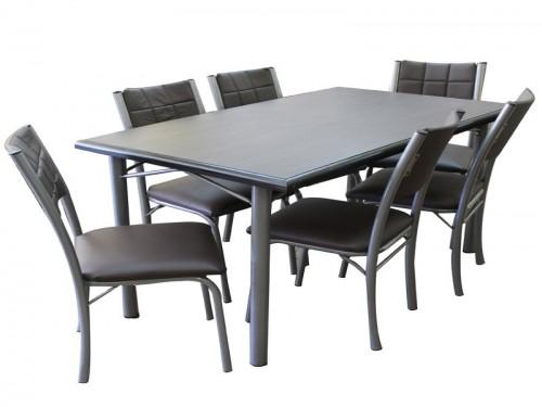 Combo Donnet Siena mesa 1.40x0.80 + 6 sillas