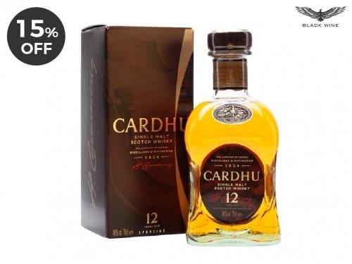 Cardhu 12 Años - Speyside Single Malt 750ml.