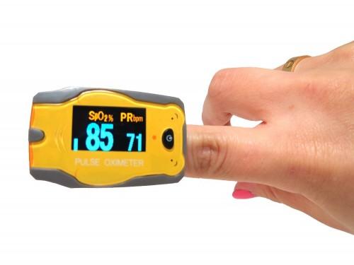 Oximetro de dedo Adulto Pediatrico 1 año de garantia