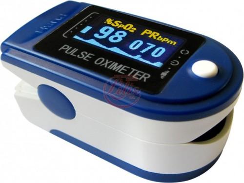 Oximetro de pulso Nel pantalla Oled con curva plestimografica