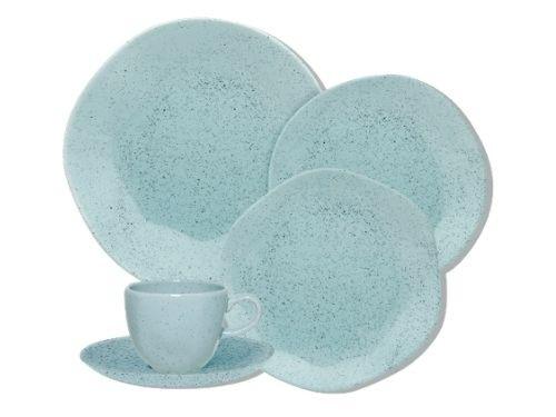 Juego de platos de porcelana de 30 piezas Ryo Blue Bay Oxford