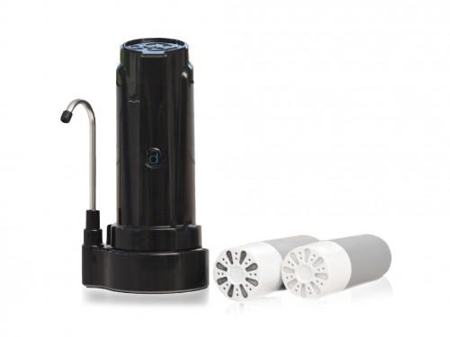 Purificador de Agua Aqua Negro + 2 repuestos