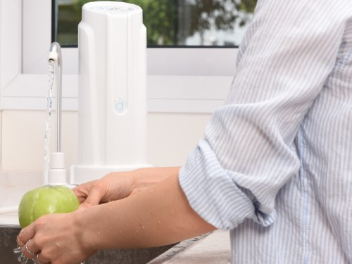 Purificador de Agua Aqua Blanco + 2 repuestos