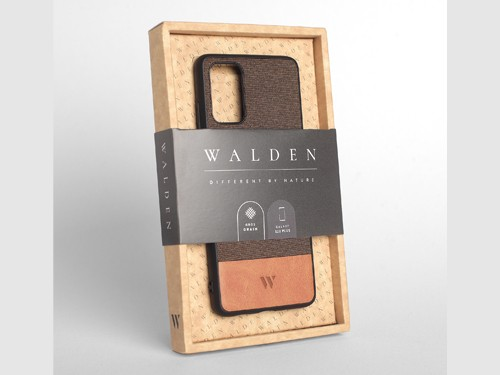 Funda Walden® Tejido & Cuero A52 A72 S21 S20 S10 S9 Plus Ultra