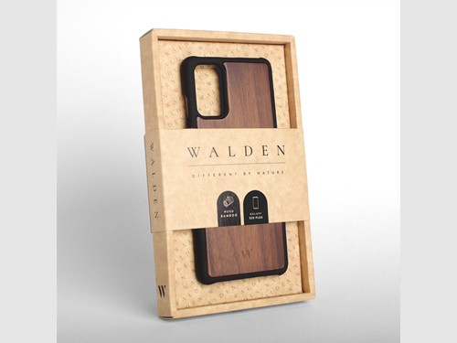 Funda Walden® Madera Real S21 S20 Plus Ultra Note 20 10 S10 S9 Plus