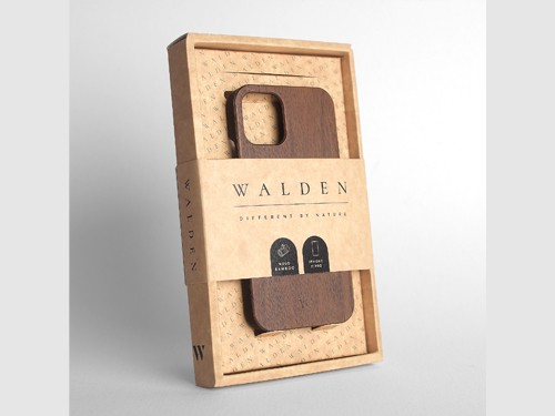 Funda Walden® Madera Real iPhone 12 11 Pro X Xs Xr Max 7 8 Plus