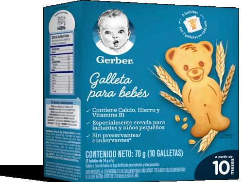 Galletitas Gerber Biscuits 70gr