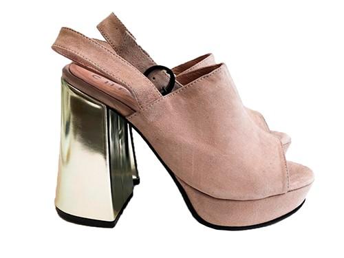 Sandalia de cuero Stephie