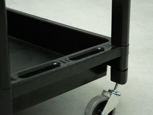 Carro Plástico con ruedas reforzadas que soporta mas de 130 Kilos