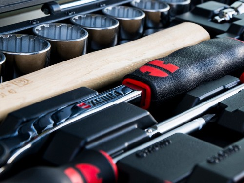 Set de herramientas completo para todo tipo de trabajo. 91 Piezas