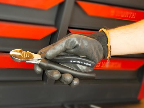 Alicate de acero de alta calidad y mango de plástico ergonómico 180MM