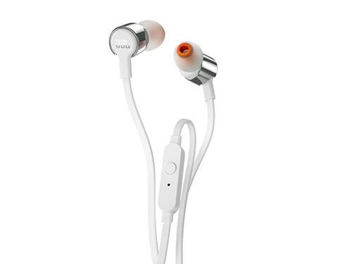 Auriculares In-ear JBL T210 Blanco