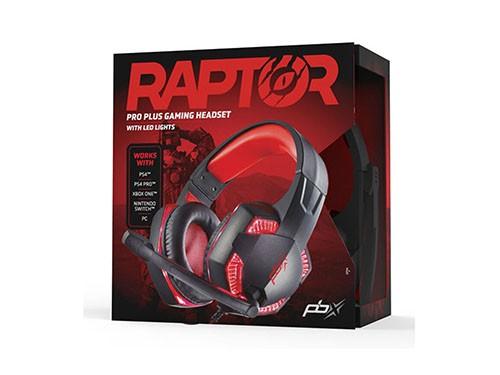 Auriculares Gaming PBX Raptor Pro Plus