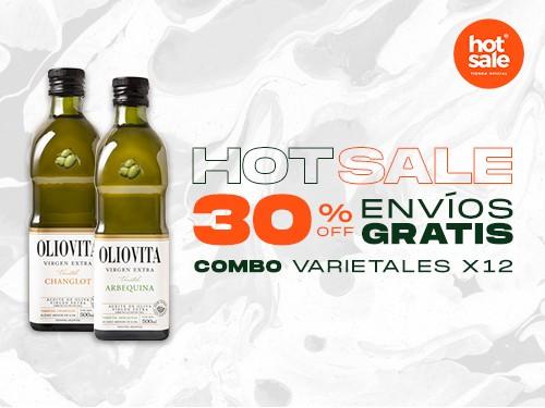 Oliovita Arbequina 500ml x 12u. - Aceite de Oliva Virgen Extra