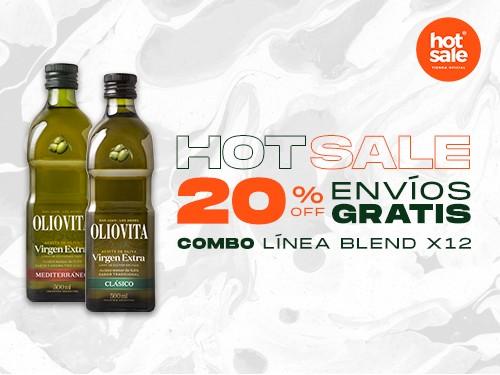 Oliovita Clásico 500ml x 12u. - Aceite de Oliva Virgen Extra