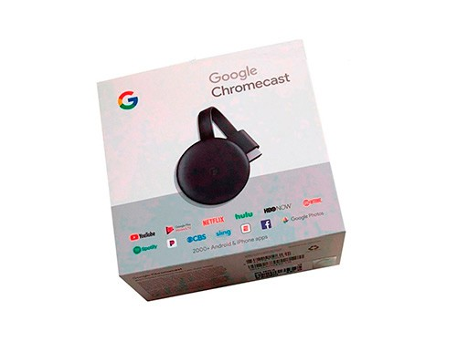 CROMECAST 3 GOOGLE CHROMECAST 3 FULL HD CARBON MEDIA TV BOX 12 CUOTAS