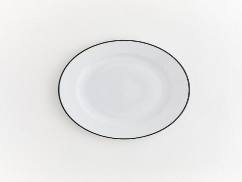 Plato Postre Ultra Porcelana  - Set x6 VOLF