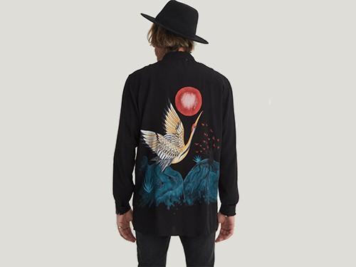 Camisa de hombre Fuji