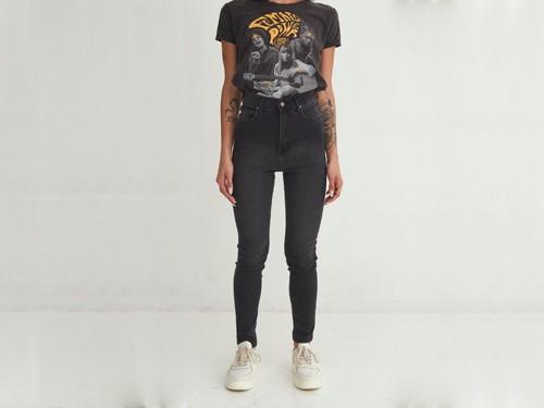 Jean de mujer skinny rock