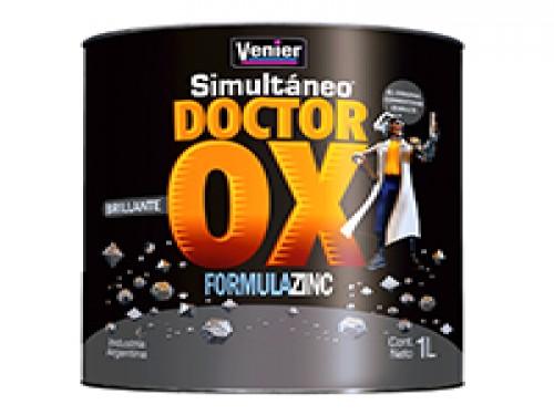 Esmalte sintético Dr Ox brillante 1 lt Venier CONSULTAR COL.ORES