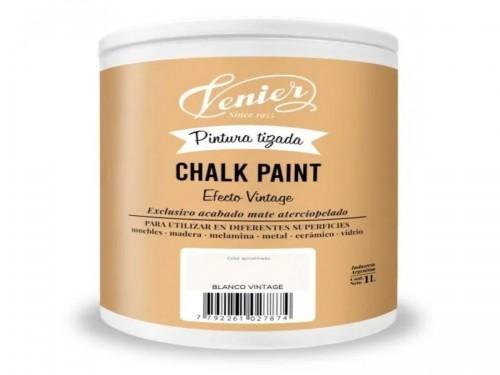Pintura Chalk a la Tiza al agua Venier 1 lts CONSULTAR COLORES