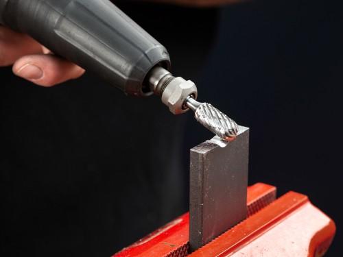 Kit de 5 Fresas metálicas para Plástico/ Aluminio/ Metales no Ferrosos